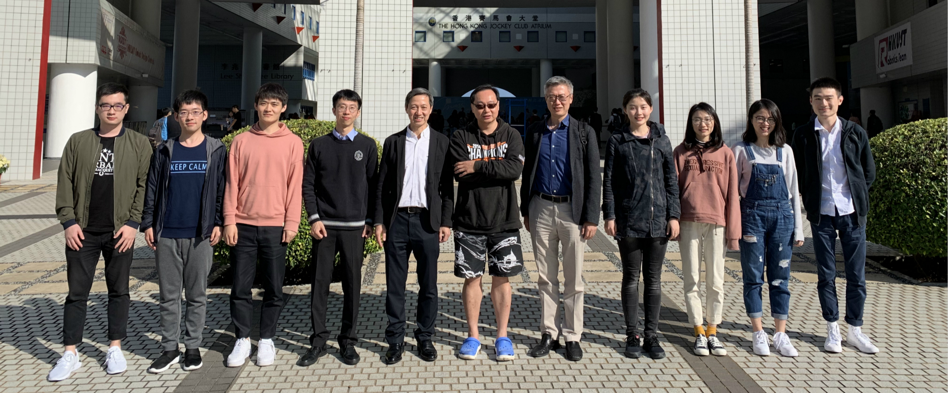 Prof. Vincent Wong visited our group