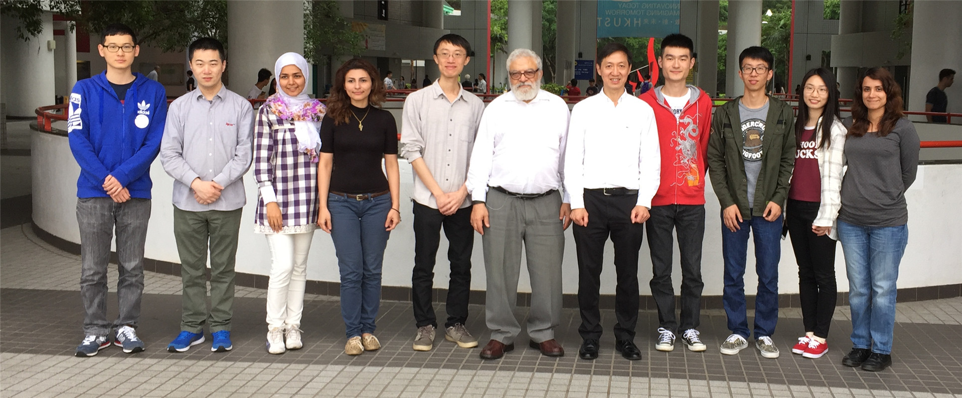 Prof. Mohamed E. El-Hawary visited our group