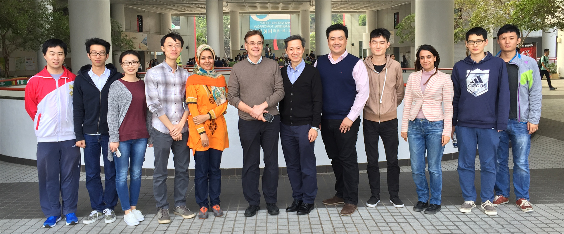 Prof. Keith Ross visited our group